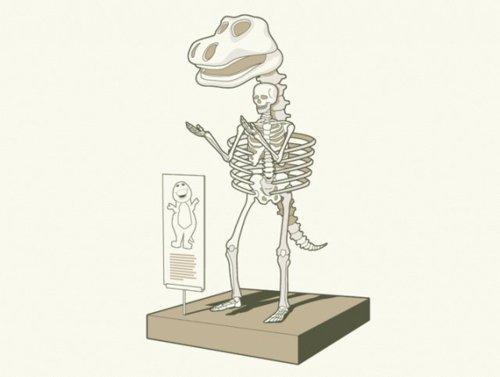 barney-esqueleto